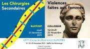 Affiche du congrès national chirurgie esthétique SOFCPR 2019 à Paris